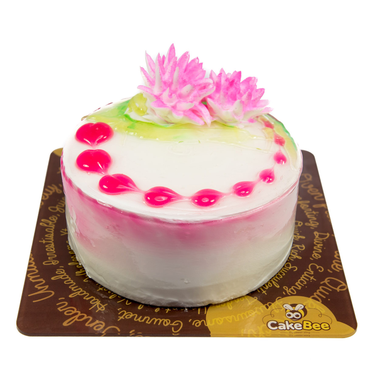 Home Cafe Cakebee Birthday Cakes Luscious Lychee Cake