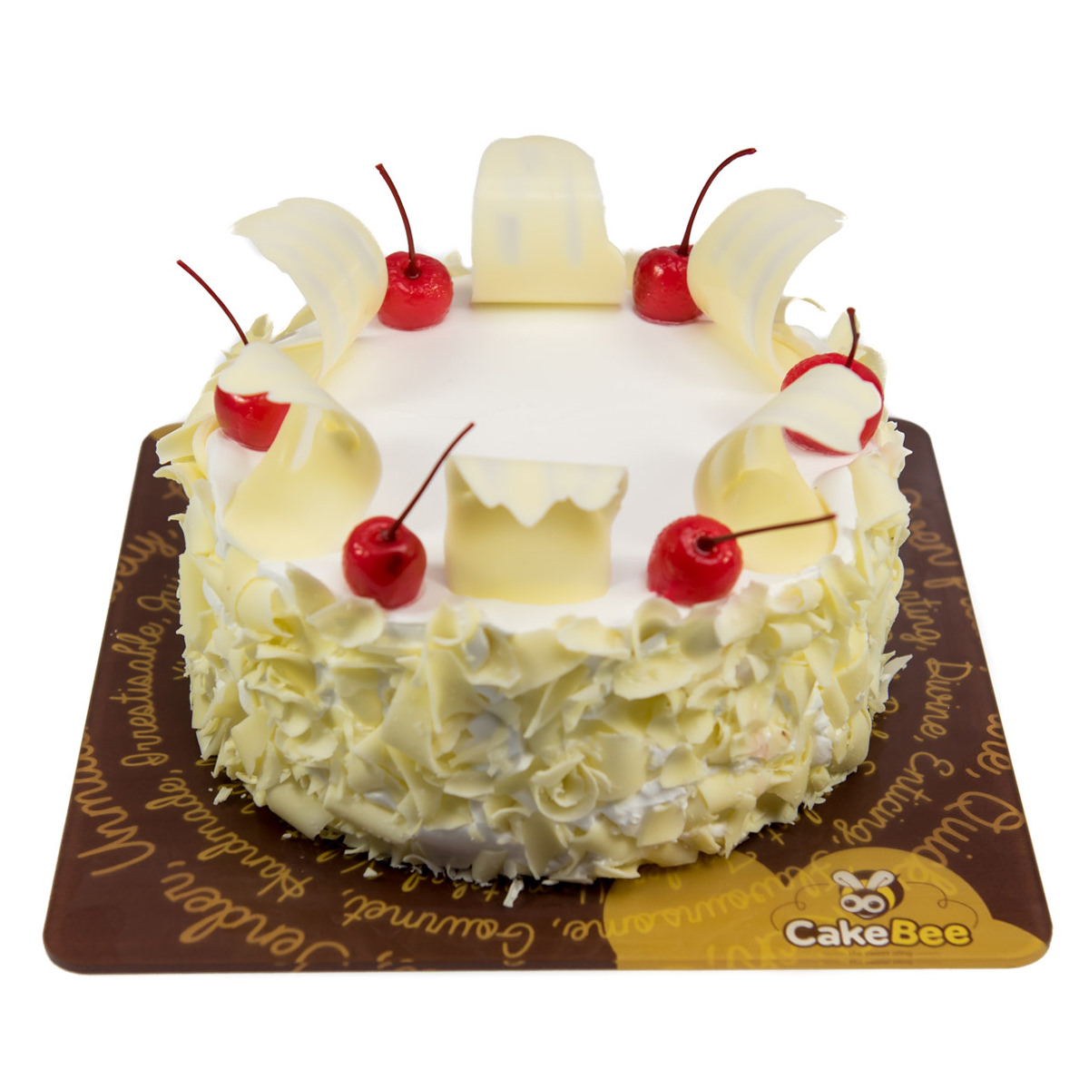 Home Cafe Cakebee Birthday Cakes White Forest Cake
