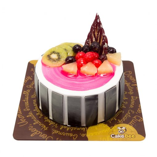 Sensational Fruit Cocktail Cake Feenix Food Cake Delivery Service In Trichy Birthday Cards Printable Inklcafe Filternl